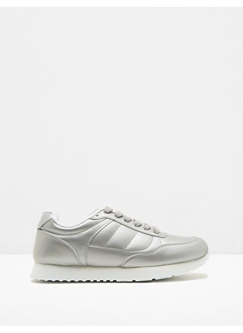 Koton Sneakers Ayakkabı Gümüş